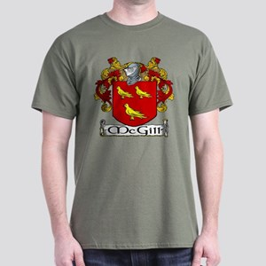 McGill Coat of Arms Dark T-Shirt