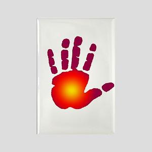 Energy Hand Rectangle Magnet