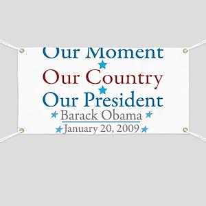 Barack Obama Inauguration Banner