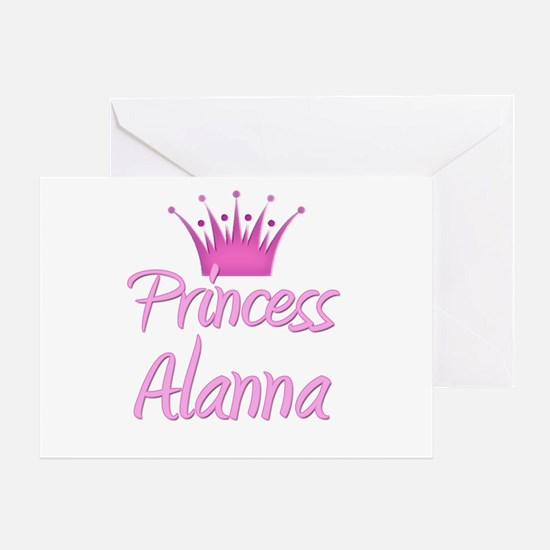 Princess Alanna Greeting Card