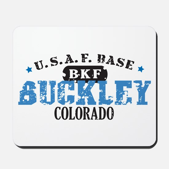 Buckley Air Force Base Mousepad