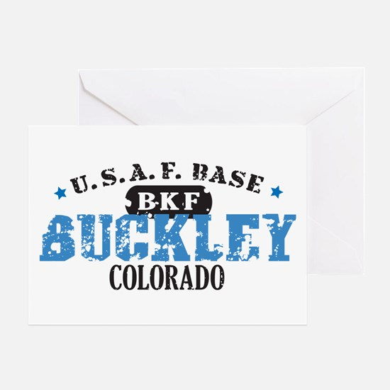 Buckley Air Force Base Greeting Card