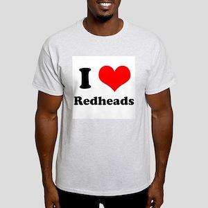 red heads white T-Shirt
