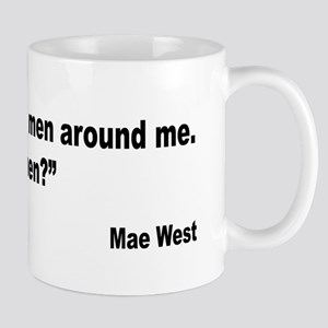 Mae West Yes Men Quote Mug