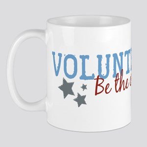 Volunteer Be the Change Mug