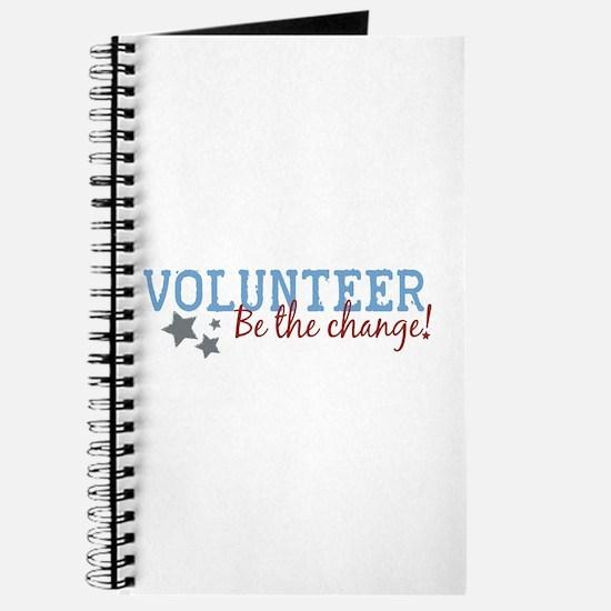 Volunteer Be the Change Journal