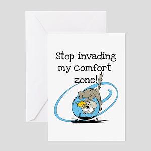 Comfort Zone Greeting Card