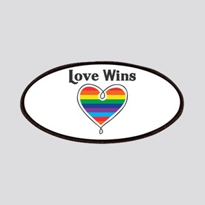 Love Wins LGBTQ Coming Out Day Patch