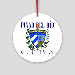 Pinar del Rio Ornament (Round)