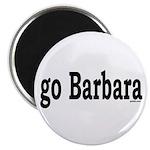 "go Barbara 2.25"" Magnet (100 pack)"