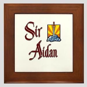 Sir Aidan Framed Tile