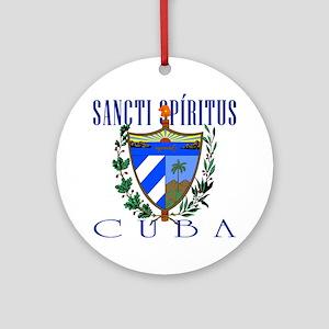 Sancti Spiritus Ornament (Round)