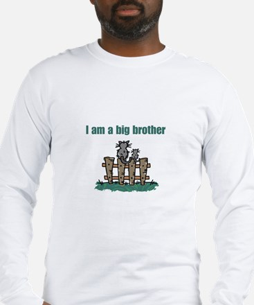 Fence Cats Big Brother Long Sleeve T-Shirt