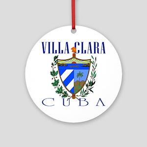 Villa Clara Ornament (Round)