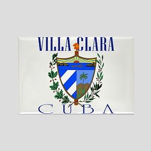 Villa Clara Rectangle Magnet