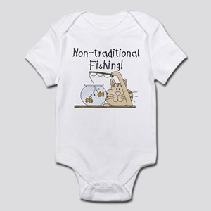 Non-Traditional Fishing Infant Bodysuit