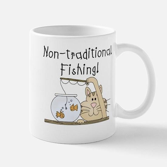 Non-Traditional Fishing Mug