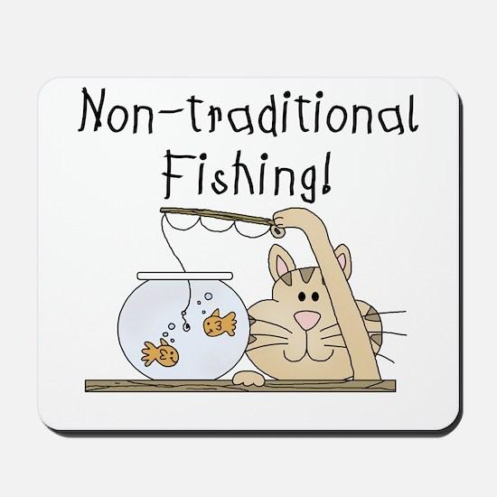 Non-Traditional Fishing Mousepad