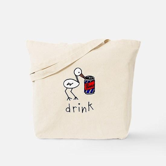 Beer Bird Tote Bag
