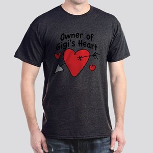 OWNER OF GIGI'S HEART Dark T-Shirt