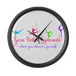 Sara Beth's Gymnasts Logo with Tagline Large Wall
