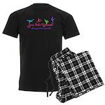 Sara Beth's Gymnasts Logo with Tagline Pajamas