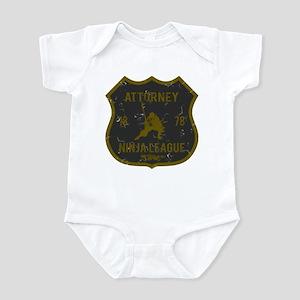 Attorney Ninja League Infant Bodysuit