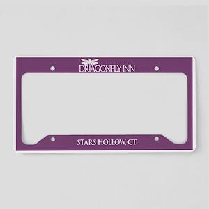 Dragonfly Inn Stars Hollow License Plate Holder