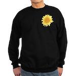 Elegant Sunflower Sweatshirt (dark)