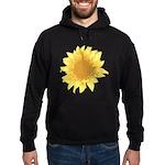 Elegant Sunflower Hoodie (dark)