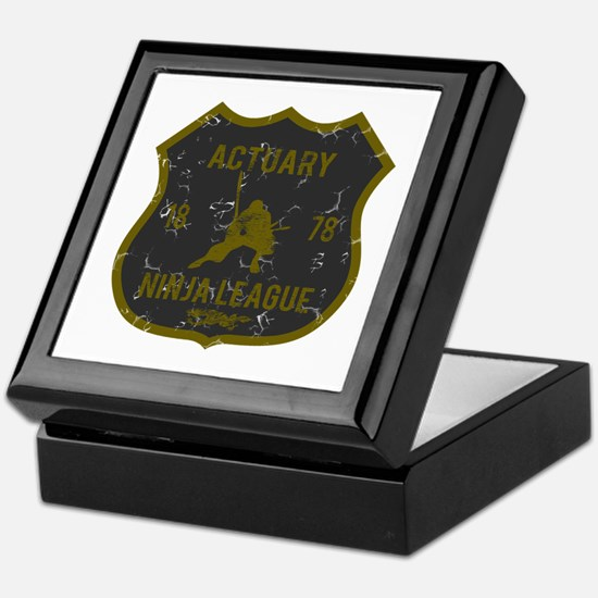 Actuary Ninja League Keepsake Box