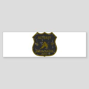 Actuary Ninja League Bumper Sticker