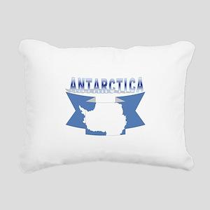 ANTARCTICA RIBBON TRANS Rectangular Canvas Pillow
