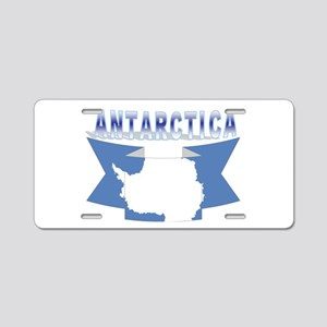 ANTARCTICA RIBBON TRANS Aluminum License Plate