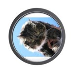 Kitty owns you Wall Clock