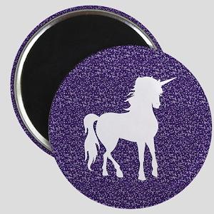 Purple Unicorn Magnet