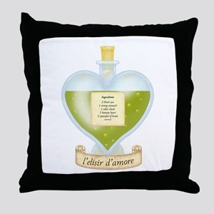 Blind Love Potion Throw Pillow