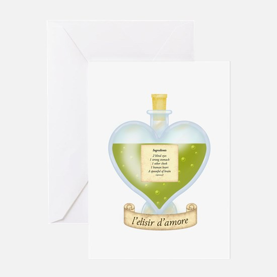 Blind Love Potion Greeting Card