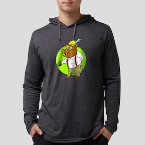 German Boar Long Sleeve T-Shirt
