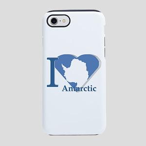 I love antarctic iPhone 8/7 Tough Case