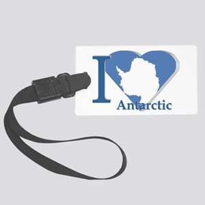 I love antarctic Luggage Tag