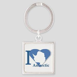 I love antarctic Keychains