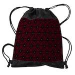 Drawstring Bag Deep Red