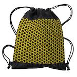 Drawstring Bag Yellow Flower