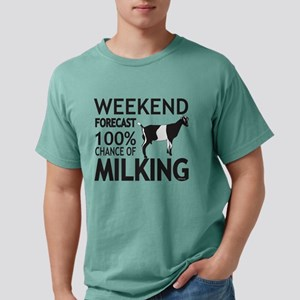 LaMancha Dairy Goat Weekend Forecast T-Shirt
