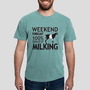 LaMancha Dairy Goat Weekend Forecast T-Shirt