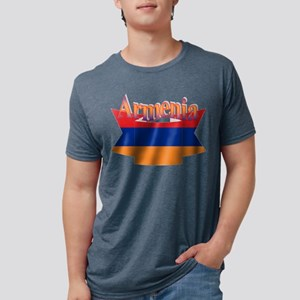 Armenia flag ribbon T-Shirt