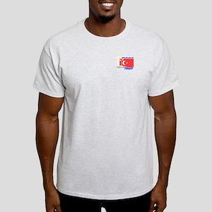 Shine the Light on Turkey Ash Grey T-Shirt