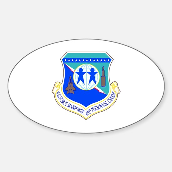 Manpower Oval Decal