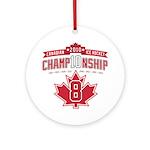 2010 Championship Ornament (Round)